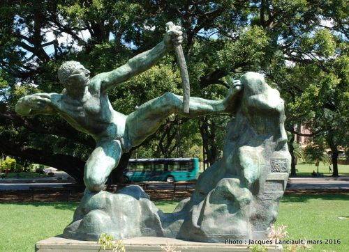 Plaza Dante, Buenos Aires, Argentine