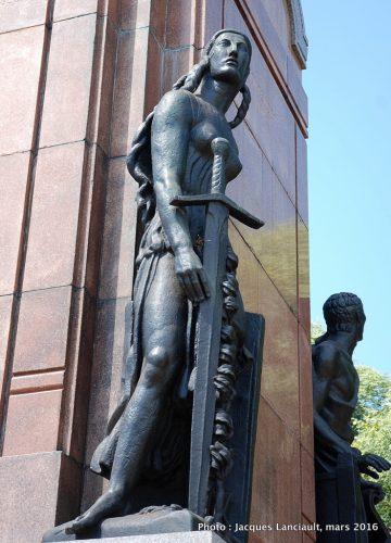 Monument Carlos María de Alvear, Buenos Aires, Argentine