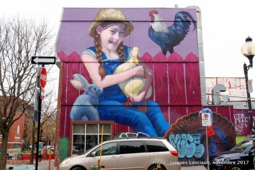 La jeune fermière, Montréal, Québec