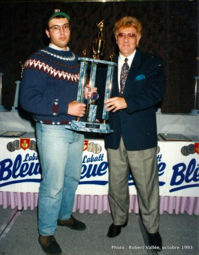 Martin Campeau et Bill Slack
