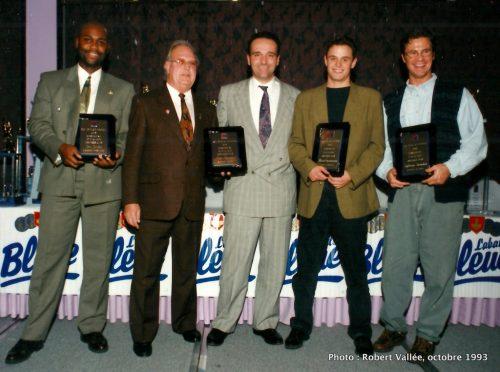 Ian Jordan, Roger Pepin...  Martin Constantineau et Sylvain Saindon