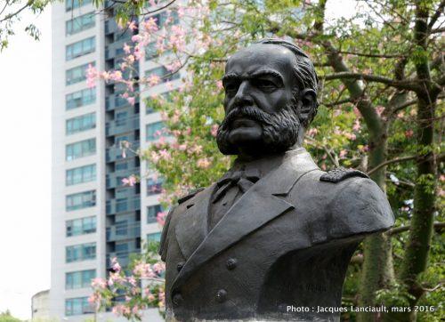 Monument Miguel Grau, quartier Palermo, Buenos Aires, Argentine