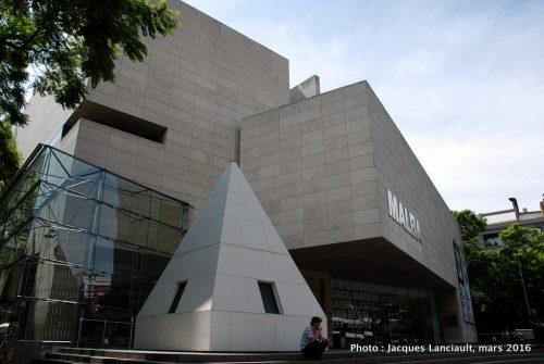 MALBA, quartier Palermo, Buenos Aires, Argentine