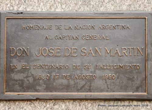 José de San Martín, quartier Palermo, Buenos Aires, Argentine