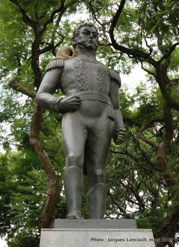Martín de Pueyrredón, plaza República de Chile, quartier Palermo, Buenos Aires, Argentine