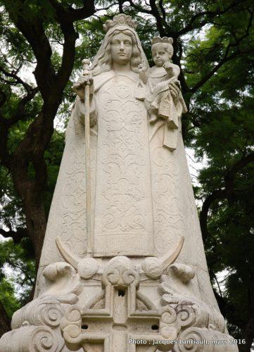 Nuestra Senora del Carmen de Cuyo, plaza República de Chile, quartier Palermo, Buenos Aires, Argentine
