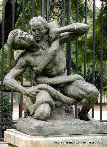 La Culpa, Museo Nacional de Arte Decorativo, Buenos Aires, Argentine