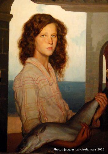 La pescadora, Museo Nacional de Arte Decorativo, Buenos Aires, Argentine