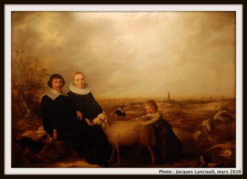 Familia holandesa con vista de Rhenen, Museo Nacional de Arte Decorativo, Buenos Aires, Argentine