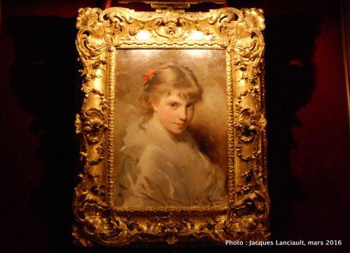 Portrait d'une jeune fille, Museo Nacional de Arte Decorativo, Buenos Aires, Argentine