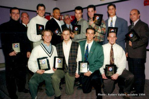 Banque des champions 1994 de la LBMJÉ