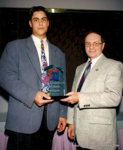 Banquet des champions 1994 de la LBMJÉ