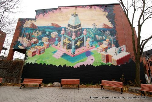 Sans titre, rue Duluth, Montréal, Québec