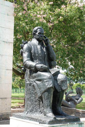 Rubén Darío, Plaza Rubén Darío, Buenos Aires, Argentine