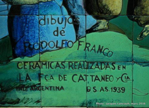 Subte Scalabrini Ortiz, Buenos Aires, Argentine