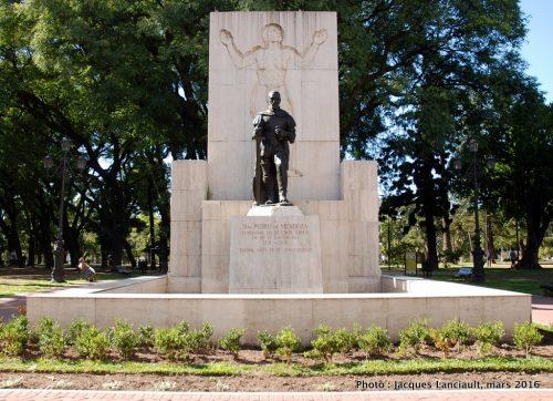 Don Pedro de Mendoza, parque Lezama, Buenos Aires, Argentine