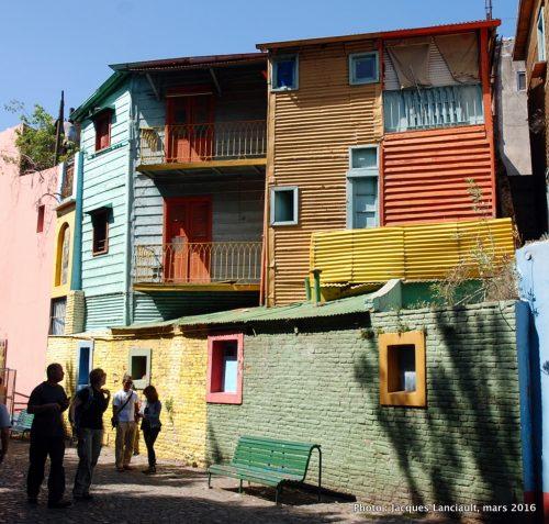 Le Caminito, Barrio de La Boca, Buenos Aires, Argentine