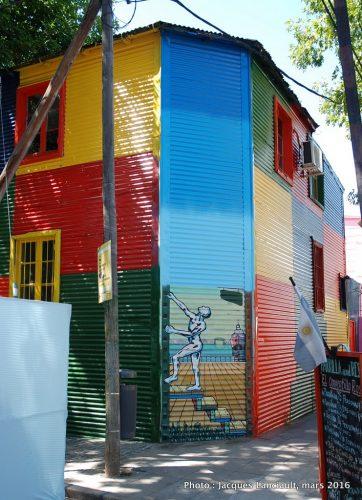 Caminito, barrio de La Boca, Buenos Aires, Argentine
