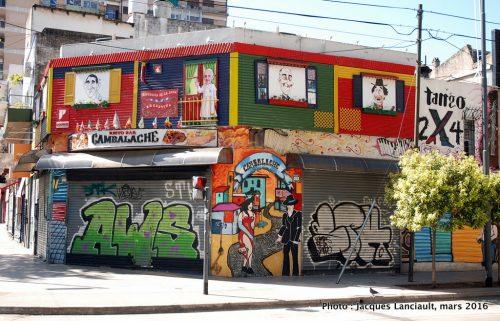 Barrio La Boca, Buenos Aires, Argentine
