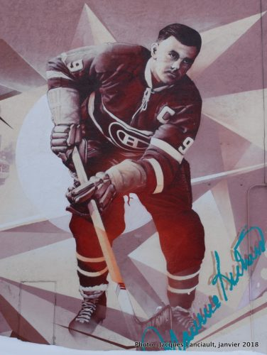 Maurice Richard, Montréal, Québec