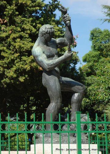 Monument Franklin Delano Roosevelt, plaza Martín de Alzaga, Parlermo, Buenos Aires, Argentine