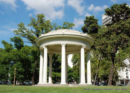 Plaza Intendente Seeber, Parlermo, Buenos Aires, Argentine