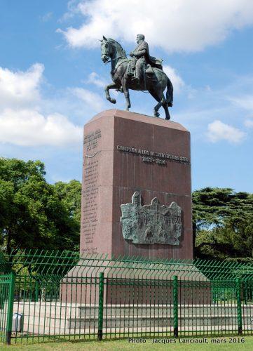 Juan Manuel de Rosas, plaza Intendente Seeber, Parlermo, Buenos Aires, Argentine