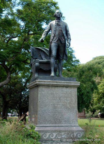 George Washington, parque tres de Febrero, Parlermo, Buenos Aires, Argentine