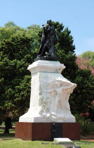 Domingo Faustino Sarmiento, plaza Sicilia, Parlermo, Buenos Aires, Argentine