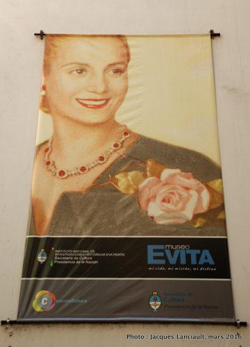 Museo Evita, Parlermo, Buenos Aires, Argentine
