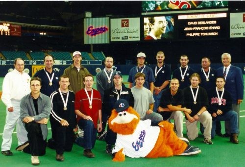 Équipe junior du Québec 2000, championne canadienne