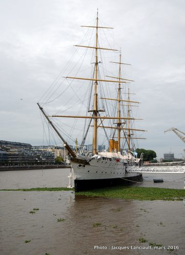 Fragata ARA Presidente Sarmiento, Puerto Madero, Buenos Aires, Argentine