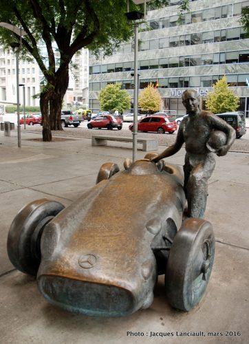 Juan Manuel Fangio, Puerto Madero, Buenos Aires, Argentine