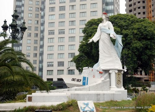 Monumento Guarda Costas, Puerto Madero, Buenos Aires, Argentine