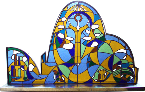 Musée Fortabat, Puerto Madero, Buenos Aires, Argentine
