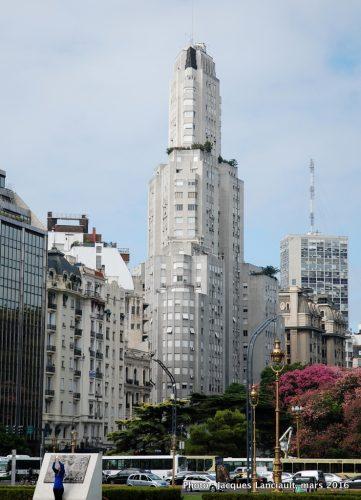 Edificio Kavanagh, Plaza Fuerza Aérea Argentina, Retiro, Buenos Aires, Argentine