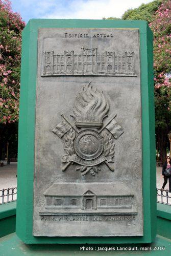 Plaza General San Martín, Quartier Retiro, Buenos Aires, Argentine