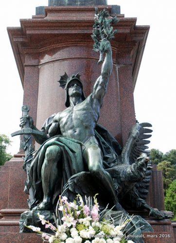 Monument au général San Martín et aux armées de l'indépendance, quartier Retiro, Buenos Aires, Argentine