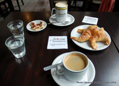 Natacha Cafe & Petit Restaurant, quartier Retiro, Buenos Aires, Argentine