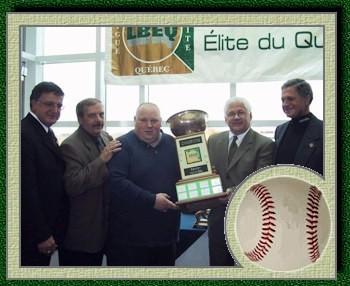 Clément Trottier, Jean Vautier, Billy Gluck, Claude Mailhot et Marcel Clément