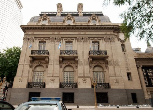 Palacio San Martín, quartier Retiro, Buenos Aires, Argentine