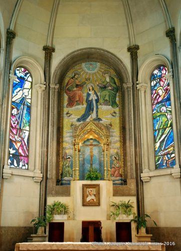 Église de la paroisse Madre Admirable, quartier Retiro, Buenos Aires, Argentine