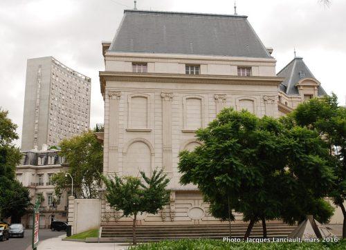 Palacio Ortiz Basualdo, quartier Retiro, Buenos Aires, Argentine