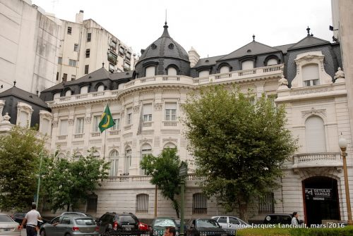 Palacio Pereda, quartier Retiro, Buenos Aires, Argentine