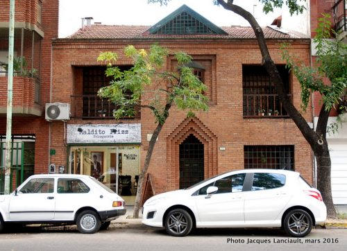 Maison d'enfance de Jorge Luis Borges, quartier Palermo Viejo, Buenos Aires, Argentine
