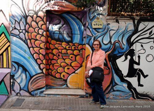 Pasaje Russel, quartier Palermo Viejo, Buenos Aires, Argentine
