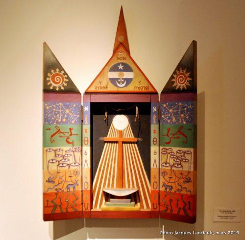 Museo Xul Solar, quartier Palermo Viejo, Buenos Aires, Argentine