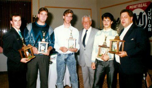 Pascal Raymond... Jean-Pierre Roy, Richard Moisan et Ronnie Di Chario