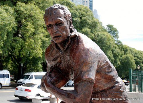 Hugo Porta, paseo de la Gloria, quartier Puerto Madero, Buenos Aires, Argentine