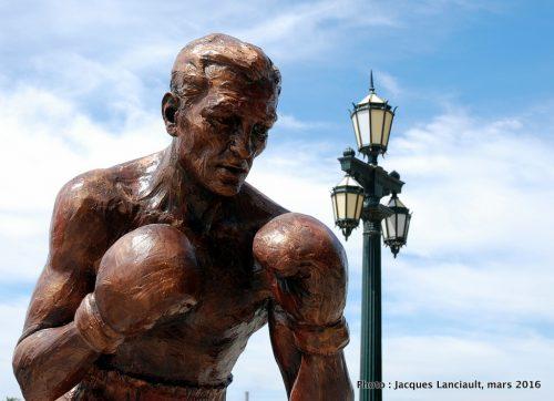 Pascual Perez, paseo de la Gloria, quartier Puerto Madero, Buenos Aires, Argentine